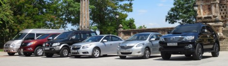 Hue to Bach Ma by private taxi