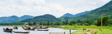Danang to Hue by taxi