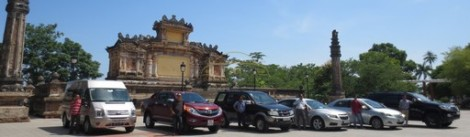 Hue to Phong Nha by private taxi