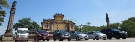 Hue to Lao Bao by private taxi