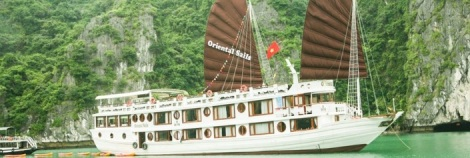 Halong Bay Cruise on Oriental Sails