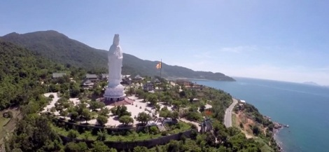 Lady Buddha Statue on Son Tra Peninsula