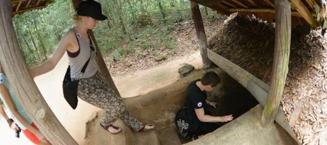 Cu Chi Tunnels Half Day Tour
