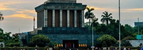 Ho Chi Minh Mousoleum in Ho Chi Minh Complex