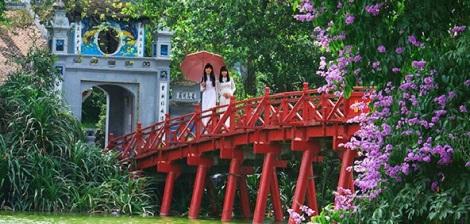 Ngoc Son Temple & The Huc Bridge